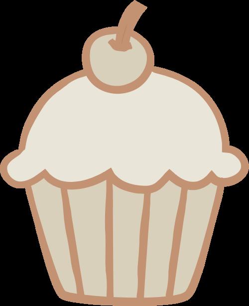 杯子蛋糕矢量图logo素材