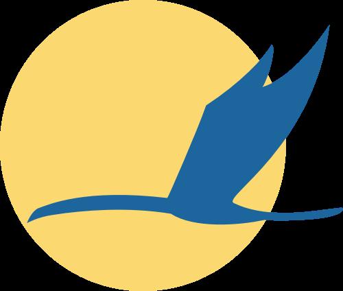 大雁飞鸟矢量图标志素材矢量logo