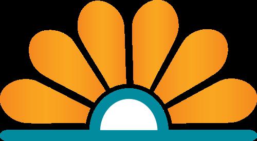 太阳花朵矢量图logo素材矢量logo