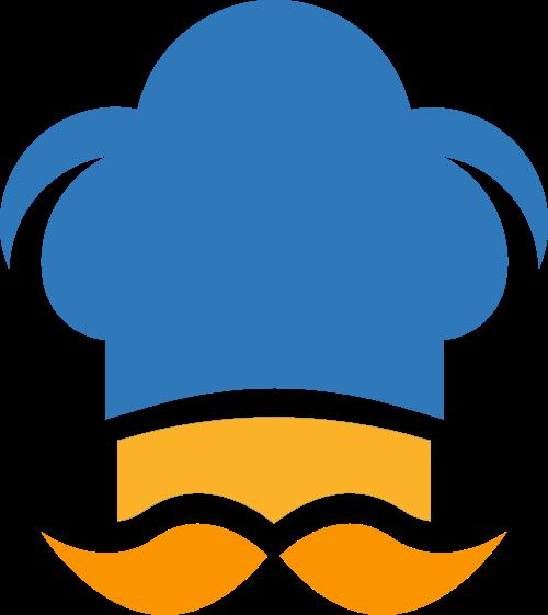 厨师帽矢量图商标素材