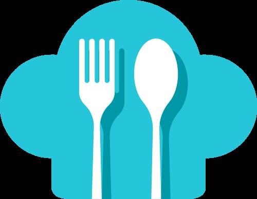 刀叉厨师帽矢量图logo素材矢量logo