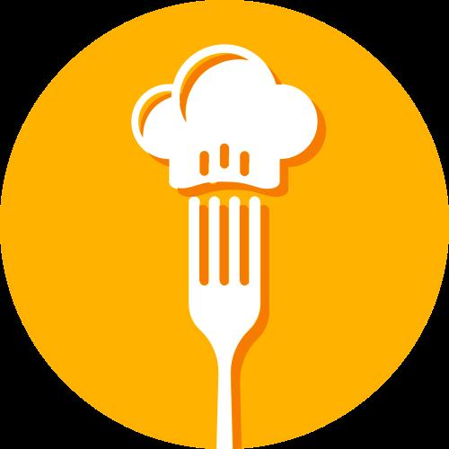 叉子厨师帽矢量图logo素材矢量logo