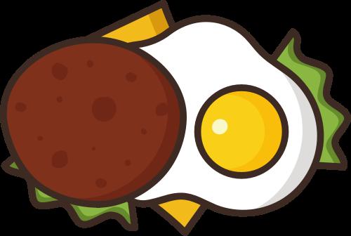 荷包蛋早餐矢量图标志素材矢量logo