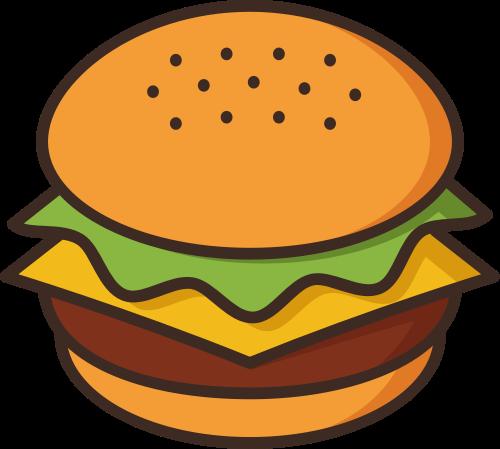 汉堡矢量图logo设计矢量logo
