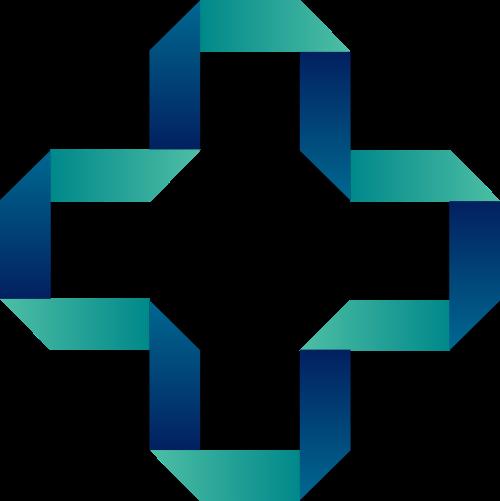 十字矢量图logo素材矢量logo