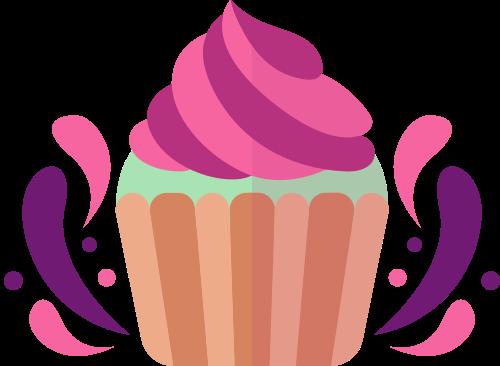 杯子蛋糕矢量图logo素材矢量logo