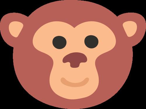 猴子矢量图logo素材矢量logo