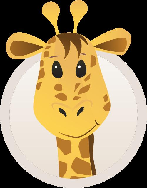 长颈鹿矢量图logo素材矢量logo