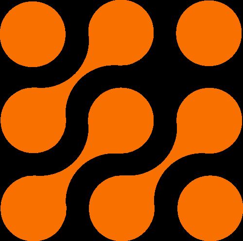 正方形圆点矢量图logo素材矢量logo