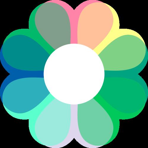 花朵矢量图logo素材矢量logo