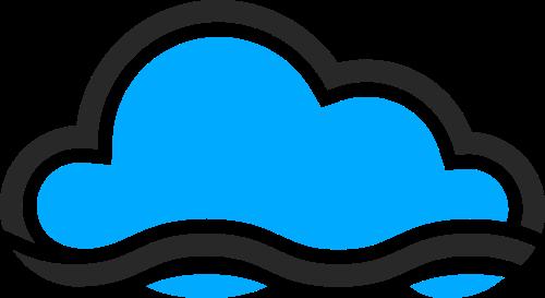云朵矢量图logo素材矢量logo