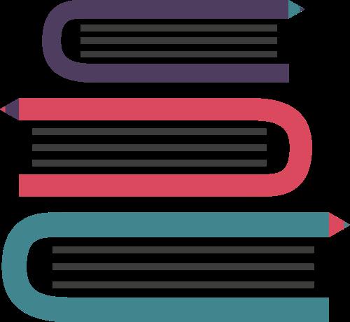 书本矢量图logo素材