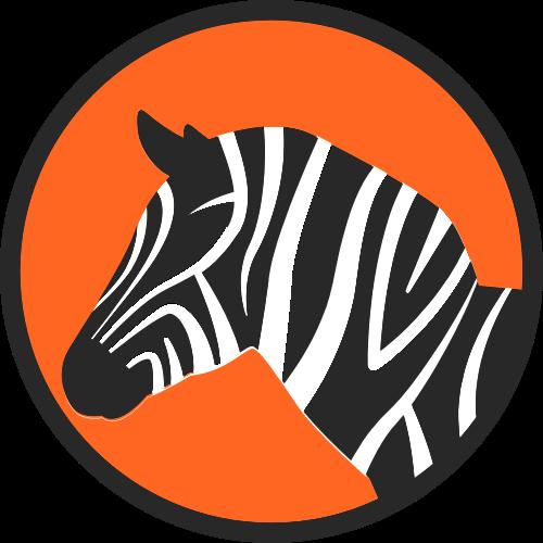 斑马矢量图logo素材矢量logo