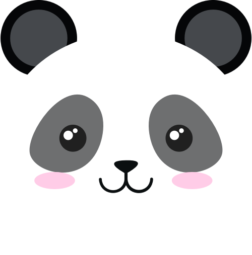 熊猫矢量图标志素材