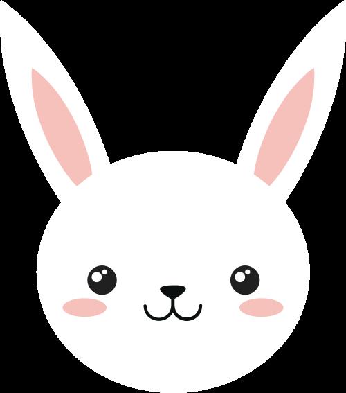 兔子矢量图商标素材矢量logo