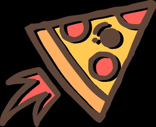 披萨火箭矢量图logo素材矢量logo