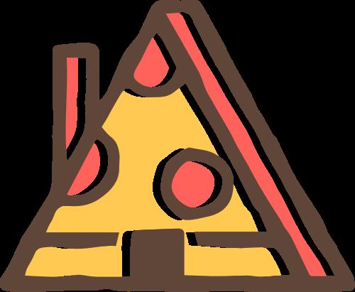 披萨小屋矢量图logo素材矢量logo