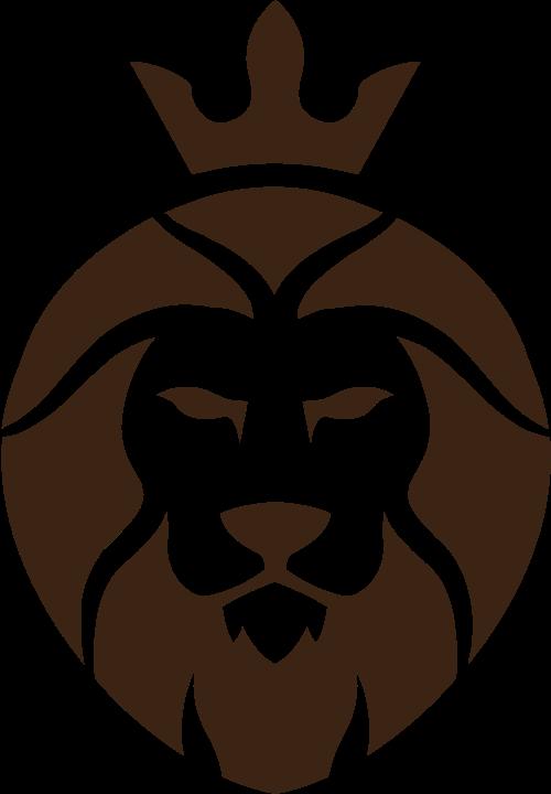 矢量图狮子头标志素材