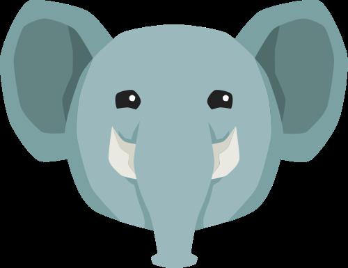 大象矢量图logo素材矢量logo