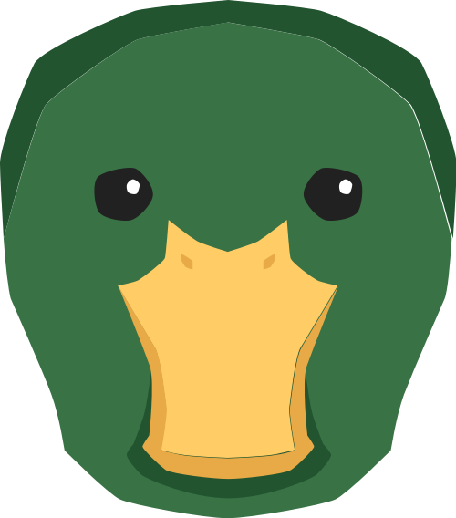 鸭子矢量图标志素材矢量logo