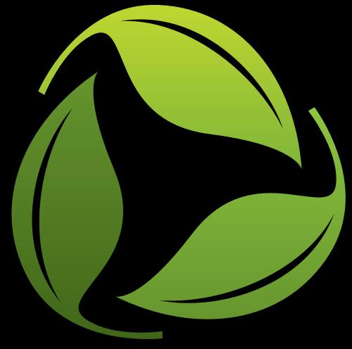 绿叶环保logo矢量图标矢量logo
