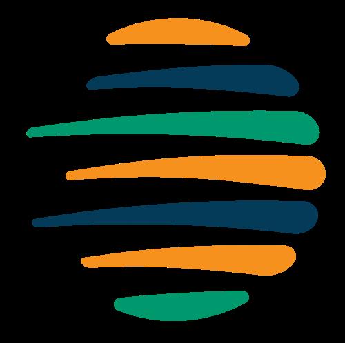 圆形地球速度矢量图标矢量logo