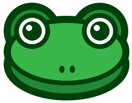 青蛙卡通头像图标下载矢量logo