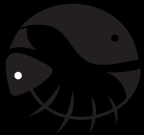 小鱼餐饮类矢量图片矢量logo