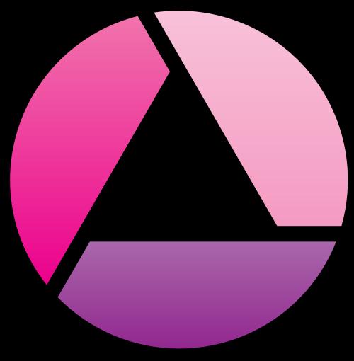 圆形相机镜头矢量图标矢量logo