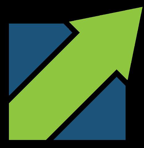 箭头上升矢量logo图标矢量logo