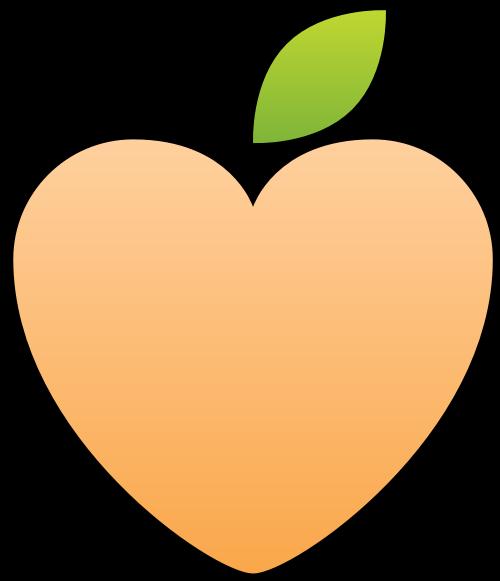 心形水果矢量图标logo矢量logo