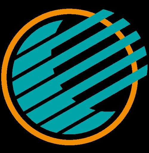 圆形抽象阳光太阳能矢量图标素材矢量logo