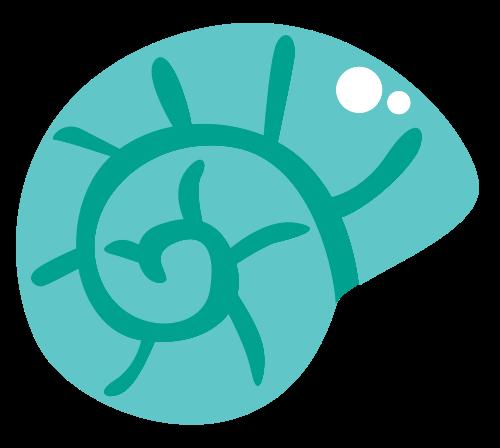 绿色海螺矢量logo矢量logo