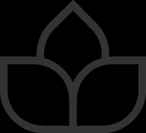 极简花瓣logo素材矢量logo