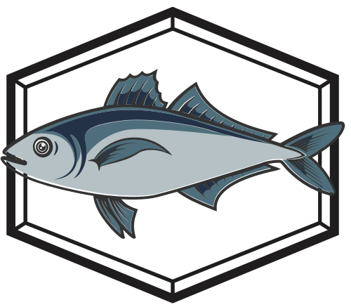 海鲜餐厅鱼logo图标矢量logo