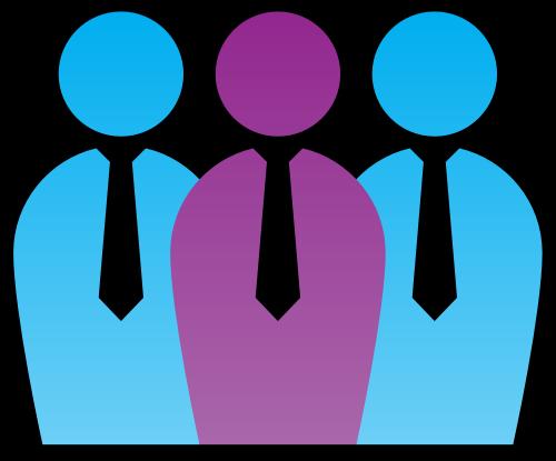 公司团队文员logo图标元素矢量logo