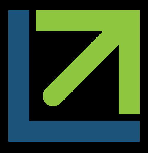 抽象业绩箭头矢量图标矢量logo
