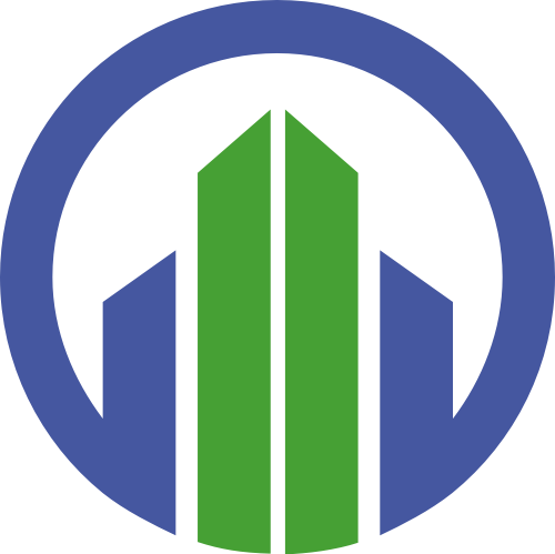 圆形建筑矢量logo
