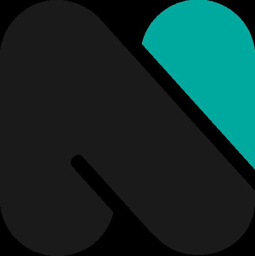 字母N矢量图标矢量logo