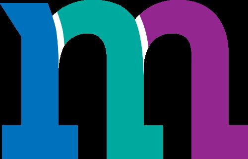 彩色字母M矢量图标矢量logo