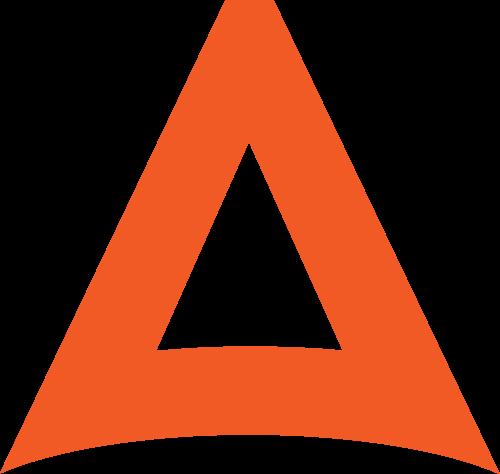字母A矢量图标