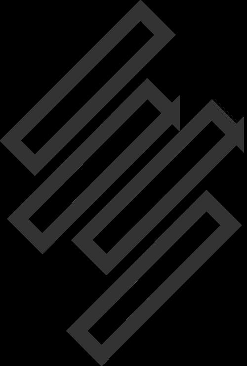 极简线条logo矢量图标