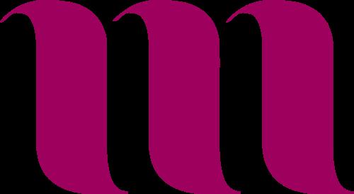 抽象字母M矢量图标矢量logo
