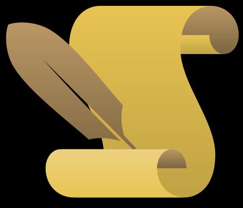 书信矢量logo