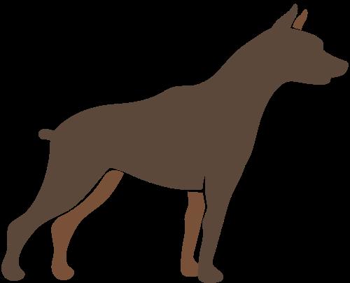 宠物赛犬矢量图标矢量logo