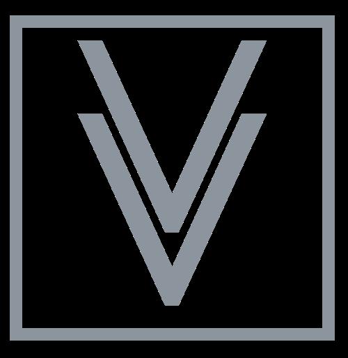 方形字母V标志logo素材