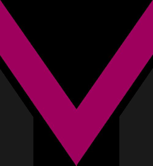 字母M矢量图标logo