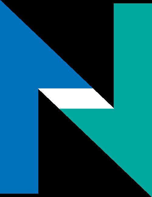 抽象箭头字母N矢量图标矢量logo