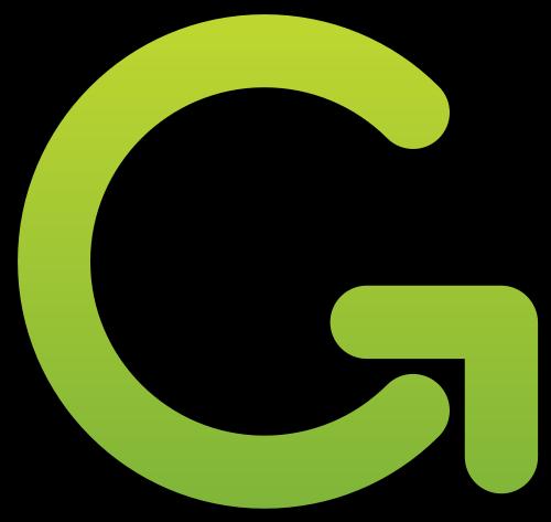 绿色字母G矢量logo矢量logo