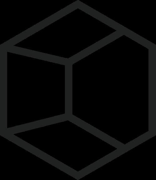 立体六边形矢量logo图标素材矢量logo